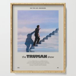 The Truman Show (1998) Minimalist Poster Serving Tray