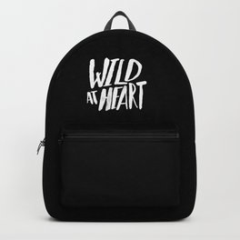 Wild at Heart x Black and White Backpack