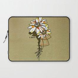 Tournesol - geometrci flower Laptop Sleeve