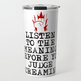 Funny Heavy Metal Saying Travel Mug
