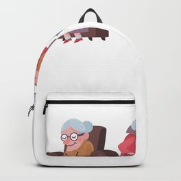 Let me through the seniors need me Backpack