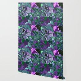 Purple Abstract Flow Wallpaper