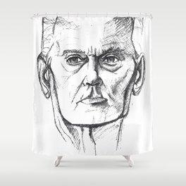Grandpa Shower Curtain