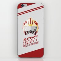 rebel iPhone & iPod Skins featuring Rebel by Tony Vazquez