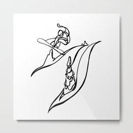 Natural Selection :: Single Line Metal Print