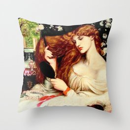 Lady Lilith | Lilith | Eve | Succubus | Concubine Throw Pillow