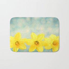 Spring Yellow Bath Mat