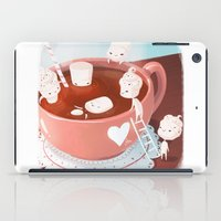 drink iPad Cases featuring Drink by Joelle Murray
