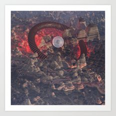 #Sedimentary #Situation - 20160325 Art Print