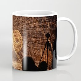 Infinite Fire Spin Coffee Mug