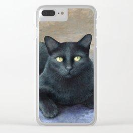 Cat 621 Clear iPhone Case