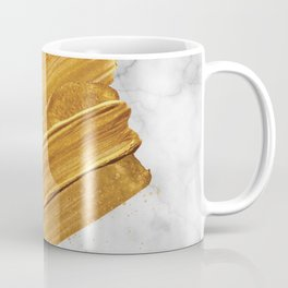 Gold on Marble Coffee Mug