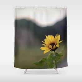 FLOWER OF SUN Shower Curtain