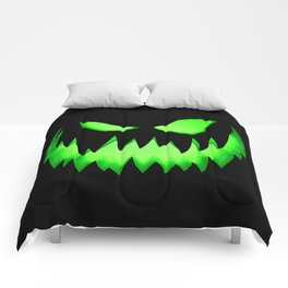 Evil Green ghost Comforters