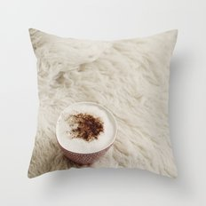 Café.  Throw Pillow