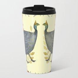 African Guineafowl Beetle Days - Bagaceous Travel Mug