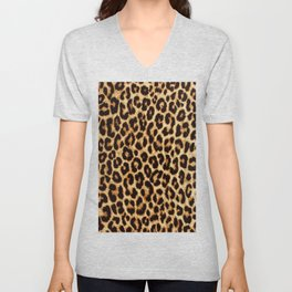 ReAL LeOparD Unisex V-Neck