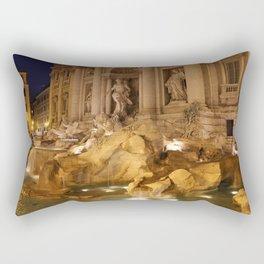 Trevi Fountain - Rome, Italy Rectangular Pillow