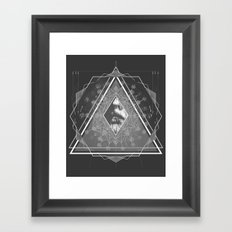 Optics  Framed Art Print