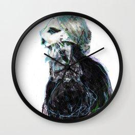 lady g kitteh Wall Clock