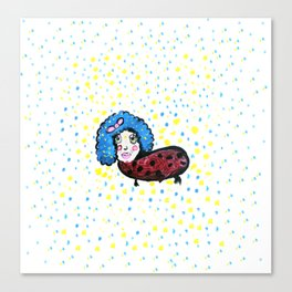 Sucha Lady Canvas Print