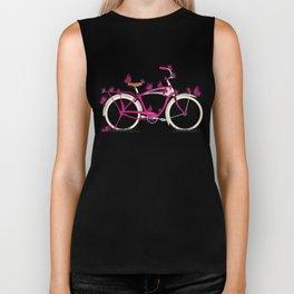 Butterfly Bicycle Biker Tank
