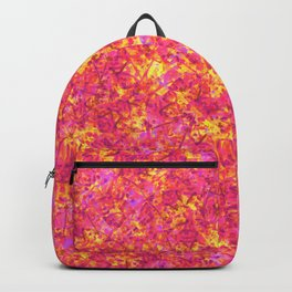 Falling Leaves in Autumn; Fluid Abstract 48 Backpack