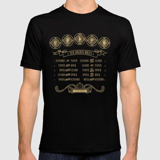 Rock Paper Scissors Lizard Spock Alternate T-shirt
