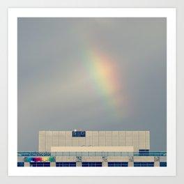 Technicolor Rainbow Art Print
