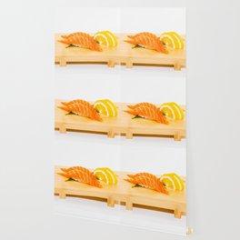 Salmon Sushi Wallpaper