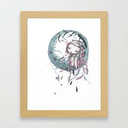 la bocca Framed Art Print