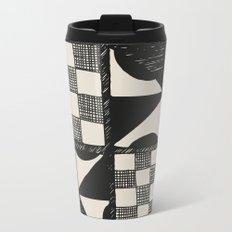 Tapa Cloth | Pacifica Patterns | Tribal Art Metal Travel Mug