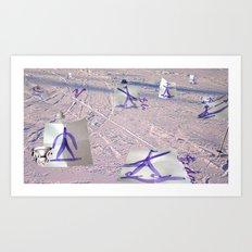 Garigami Art Print
