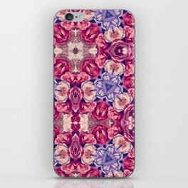 berry floral iPhone Skin