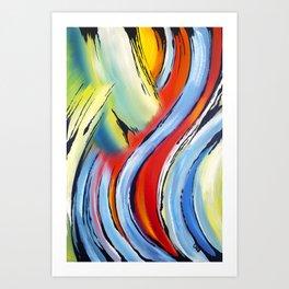 Mouvement perpetuel Art Print
