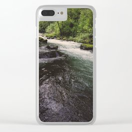 Wahclella Clear iPhone Case