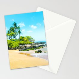 Mokapu Beach Pacific Ocean Tropical Beauty Maui Hawaii Stationery Cards