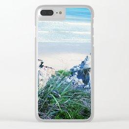 Tusan Beach Clear iPhone Case