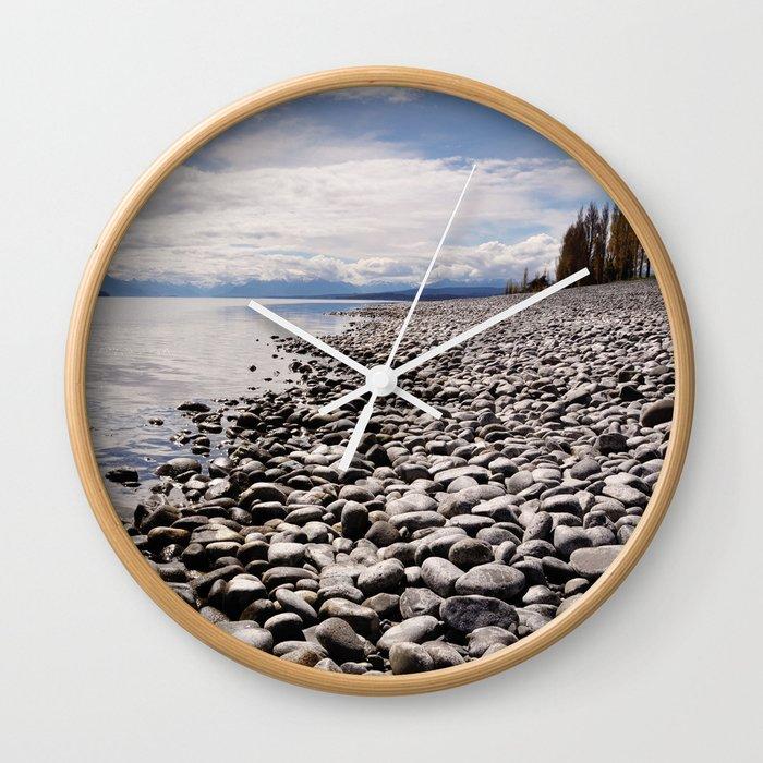 Lake Te Anau Wall Clock
