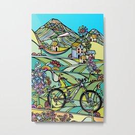 Ride or Die Metal Print