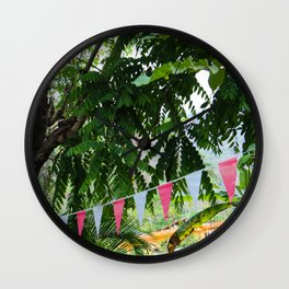 Dreamy Mexican Street Wall Clock