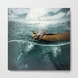 One summer day... Metal Print
