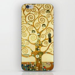 Gustav Klimt The Tree Of Life iPhone Skin