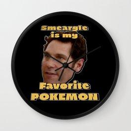 Smeargle is Paul Rudd's Favorite Wall Clock