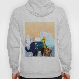 Giraffe & Elephant Mirage Hoody