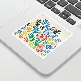 Leaf Cutouts by Henri Matisse (1953) Sticker