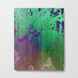Under The Waterfall Metal Print