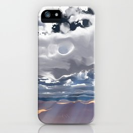 Godrays (Cloud series #3) iPhone Case
