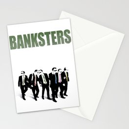 Banksters Stationery Cards