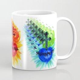 Sacred Heart, two colors Mug